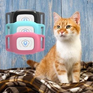 NEW Dog/Cat GPS Tracker w/ Collar Waterproof